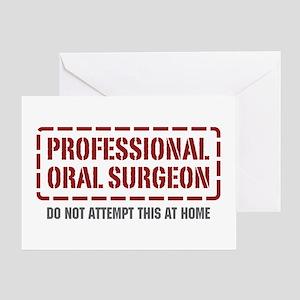 Professional Oral Surgeon Greeting Card