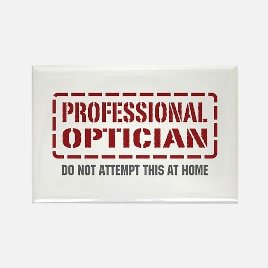 Professional Optician Rectangle Magnet