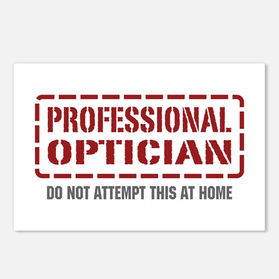 Professional Optician Postcards (Package of 8)