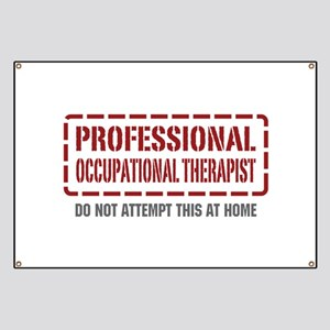 Professional Occupational Therapist Banner