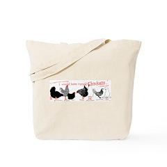 Fowl Lineup Tote Bag