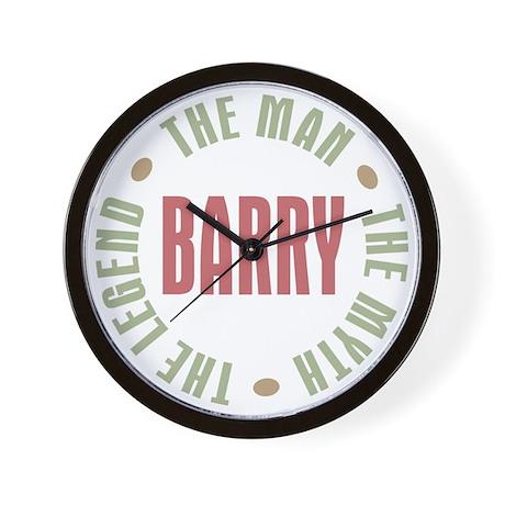 Barry Man Myth Legend Wall Clock