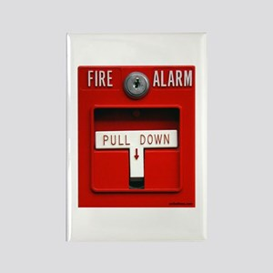 FIRE ALARM Rectangle Magnet