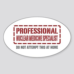 Professional Nuclear Medicine Specialist Sticker (