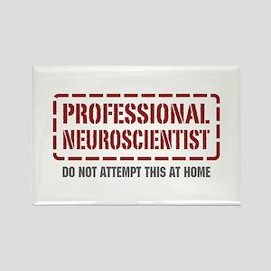 Professional Neuroscientist Rectangle Magnet