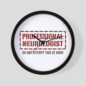 Professional Neurologist Wall Clock