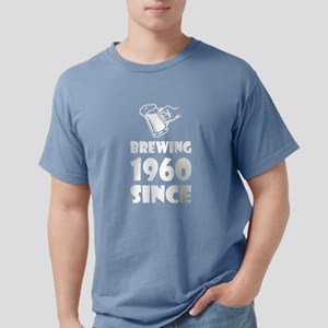 Brewing Since 1960 Beer Fathers Day Gift T-Shirt