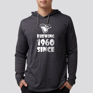 Brewing Since 1960 Beer Father Long Sleeve T-Shirt