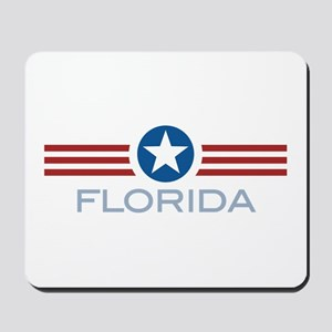 Star Stripes Florida Mousepad