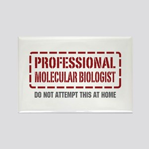 Professional Molecular Biologist Rectangle Magnet
