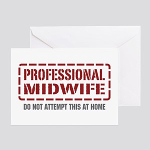 Professional Midwife Greeting Card