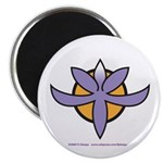"Fragrant Orchid 2.25"" Magnet (10 pack)"
