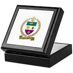 CARON Family Crest Keepsake Box