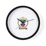 CARON Family Crest Wall Clock