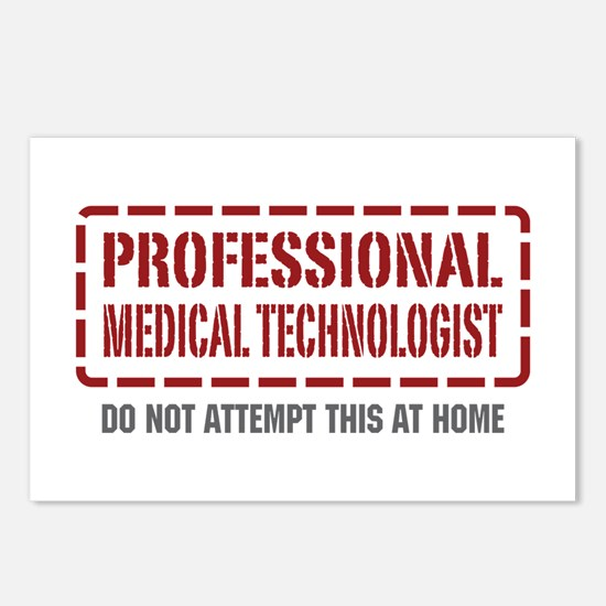 Professional Medical Technologist Postcards (Packa