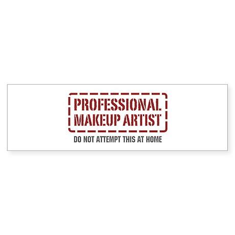 Professional Makeup Artist Bumper Sticker