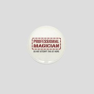 Professional Magician Mini Button