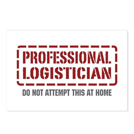 Professional Logistician Postcards (Package of 8)