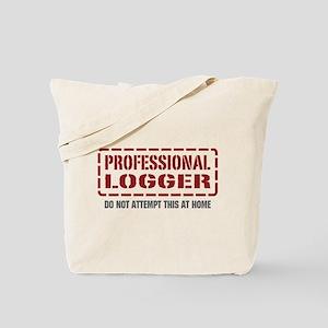 Professional Logger Tote Bag