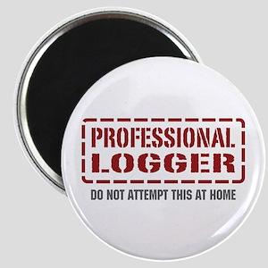 Professional Logger Magnet
