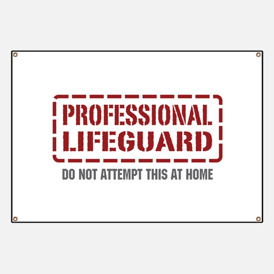 Professional Lifeguard Banner