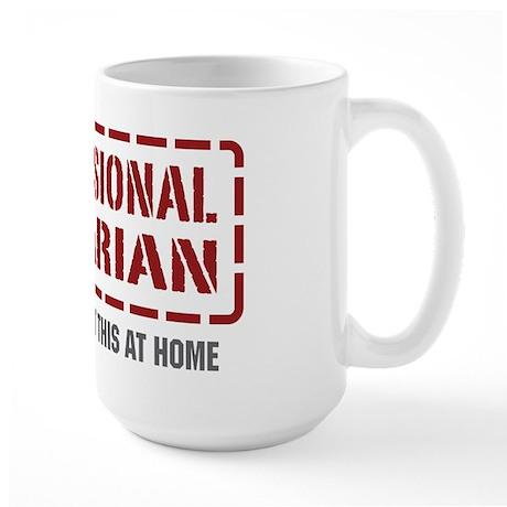 Professional Librarian Large Mug