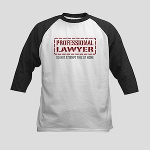 Professional Lawyer Kids Baseball Jersey