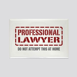 Professional Lawyer Rectangle Magnet