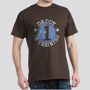 #1 DADDY IN TRAINING Dark T-Shirt