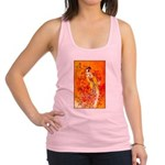 Japanese Geisha Playing the Flute Tank Top