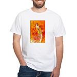 Japanese Geisha Playing the Flute T-Shirt