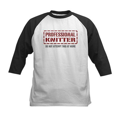 Professional Knitter Kids Baseball Jersey