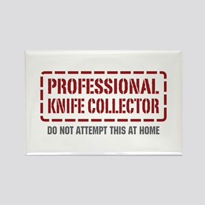 Professional Knife Collector Rectangle Magnet
