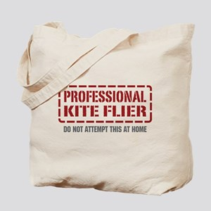 Professional Kite Flier Tote Bag