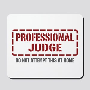 Professional Judge Mousepad
