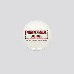 Professional Judge Mini Button