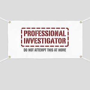 Professional Investigator Banner