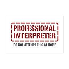 Professional Interpreter Posters