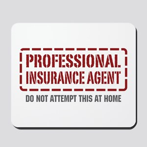 Professional Insurance Agent Mousepad