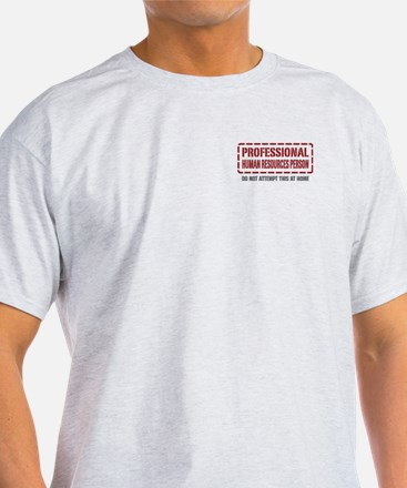 Professional Human Resources Person T-Shirt