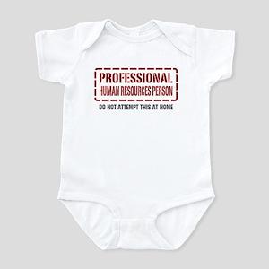 Professional Human Resources Person Infant Bodysui