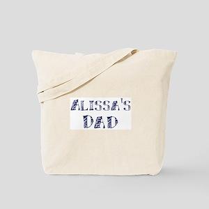 Alissas dad Tote Bag