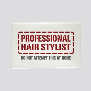 Professional Hair Stylist Rectangle Magnet