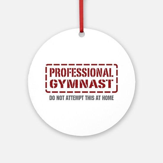 Professional Gymnast Ornament (Round)