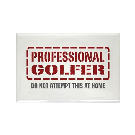 Professional Golfer Rectangle Magnet (10 pack)
