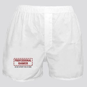 Professional Gamer Boxer Shorts