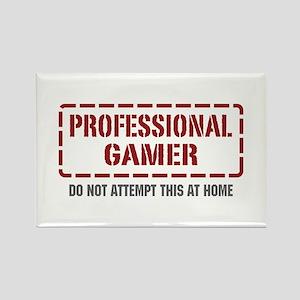 Professional Gamer Rectangle Magnet