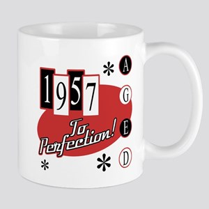 1957 Birthday Mid Century Mugs
