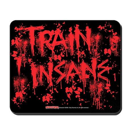 TRAIN INSANE - Mousepad