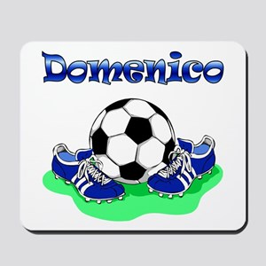 Soccer (Blue) Mousepad